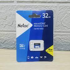 Thẻ nhớ MicroSD NETAC 32GB Class 10 chính hãng Vinago – Chợ Kỹ Thuật