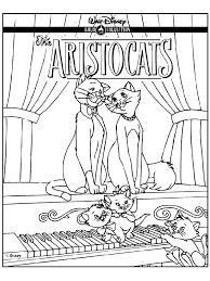 Aristokatten Aristokatten Kleurplaat