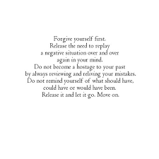 How To Forgive Yourself Quotes Best Of Quotes About Forgiveness