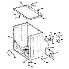 ge dryer parts model dde7200sblww sears partsdirect cabinet
