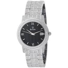 men s bulova watch crystal collection 96b011