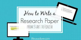 Research Paper Write The Collegiates Guide To Writing A Research Paper Life As