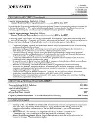 Property Manager Resume Samples Koziy Thelinebreaker Co