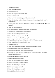 recap questions beowulf recap questions