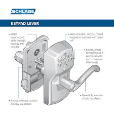 schlage commercial locks. Camelot Keypad Schlage Commercial Locks C