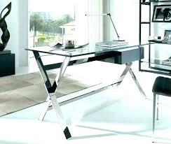 clear glass desk table glass computer desk with shelves clear glass clear glass desk clear glass