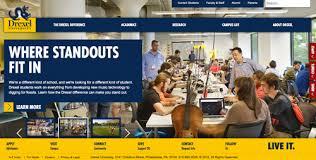 Ranking of 30 Best Designed United States College and University Websites published by WebDesignDegreeCenter.org