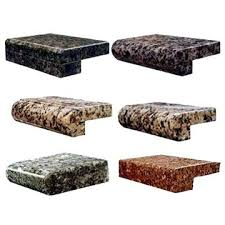 granite counter edges install tile countertop edge