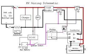 schematic v is for voltage electric vehicle forum ev wiring schematic