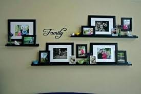family frames wall decor collage picture using frame shelves ideas decorating design framed w
