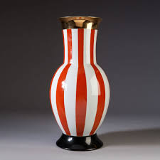 a 1950 s style vase in the italian carnival style frederico de luca