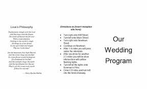 wedding party program templates 37 printable wedding program examples templates