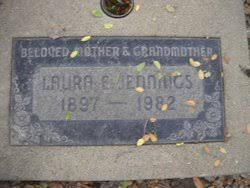 """Laura Effie """"Laurie"""" Chase Jennings (1897-1982) - Find A Grave Memorial"""