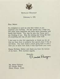 personal letterhead lot detail ronald reagan typed signed letter on personal