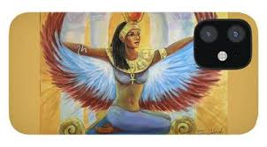 Isis' parents were nut (goddess of the sky), and geb (god of earth). Isis Wings Iphone Cases Fine Art America