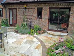 Small Picture Simple Patio Gardens Design With Country And On Ideas