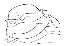 Teenage Mutant Ninja Turtles Coloring Pages Christmas Turtle To
