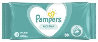 <b>Влажные салфетки Pampers</b> Sensitive — купить по выгодной ...
