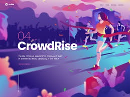 Dribbble Design Crowdrise Case Study In 2020 Flat Design Illustration