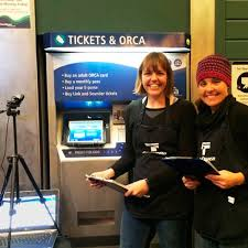Orca Vending Machine Custom Facilitating A Fast And Easy Ticket Purchase Process For Riders