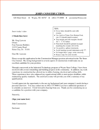 12 Construction Superintendent Cover Letter Assignment Legal Best
