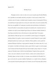 spanish study resources 2 pages spanish composition on mi mejor fiesta