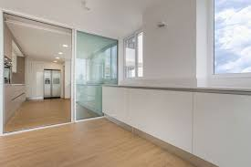 sky in every room apartment kitchen sliding doors