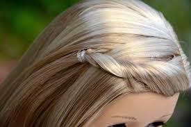 Karalee Hair Design American Girl Doll Goty 2014 Isabelle Meet Hairstyle