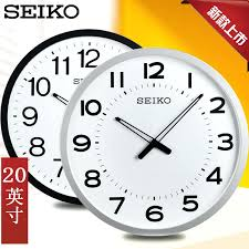 office clocks. Office Wall Clocks Large Clock Simple Atmosphere Inch Mute The Hotel Living Room Hanging Table For Sale