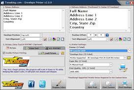 Envelopes Address Print Tweaking Com Envelope Printer