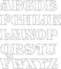 Cool Letters Stencils Fancy Bubble Letters Alphabet The Paper Trail Lettering