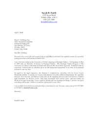 Examples Of Cover Letter For Resume Simple Examples Of Cover