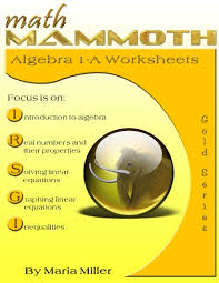 math mammoth algebra 1 worksheets two