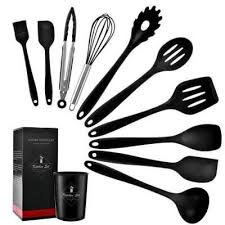 10/<b>11PCS Silicone</b> Non-stick Cookware <b>Cooking</b> Tools in 2020 ...