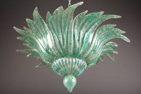 italian murano glass chandelier venice italy circa 1960s for