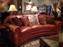 rustic leather sofa. Brown Leather Sofa Accent Pillows Rustic