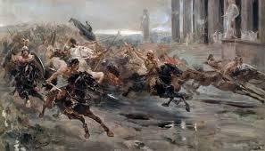 Risultati immagini per invasioni barbariche odoacre attila ecc