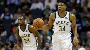 Bucks' Giannis Antetokounmpo, Khris ...
