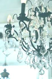 black and white crystal chandelier sensational fascinating wrought iron lighting country french