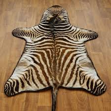 African Zebra Rug Mount #17279 For Sale @ The Taxidermy Store
