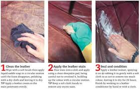 how to re a leather sofa reader