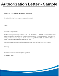 How To Make Authorization Letter For Documents 2 Namibia Mineral