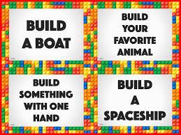 Image result for lego challenge cards