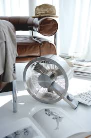Spruce up your interiors with the Stadler Form Q Metal Fan. This stylish  fan provides a powerful breeze to move air throughout your space.