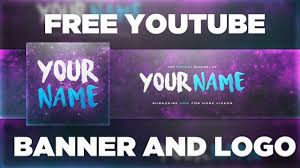 Youtube Template Psd Space Youtube Banner Template Logo Photoshop Psd Free Download 2017