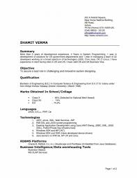 Cover Letter Current Resume Format Current Resume Formats 2015