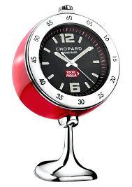 cool desk clocks chopard vintage racing table clock digital desk clock australia
