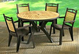 round plastic patio table round green plastic garden table plastic patio furniture sets natural plastic patio
