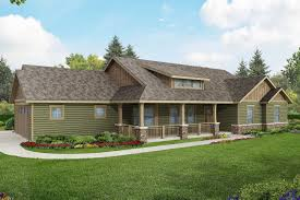 ... Ranch House Plan - Brightheart 10-610 - Front Elevation