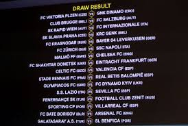 here s the full europa league round of 32 fixtures